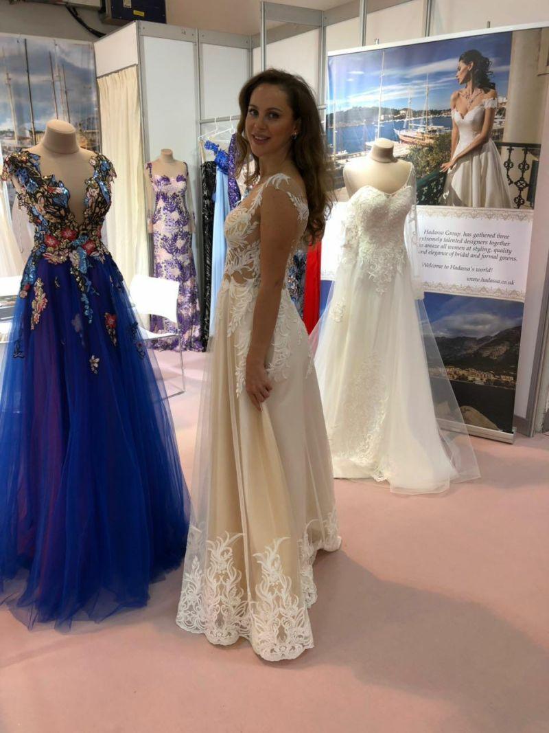 Najkrajšie svadobné šaty - Hadassa