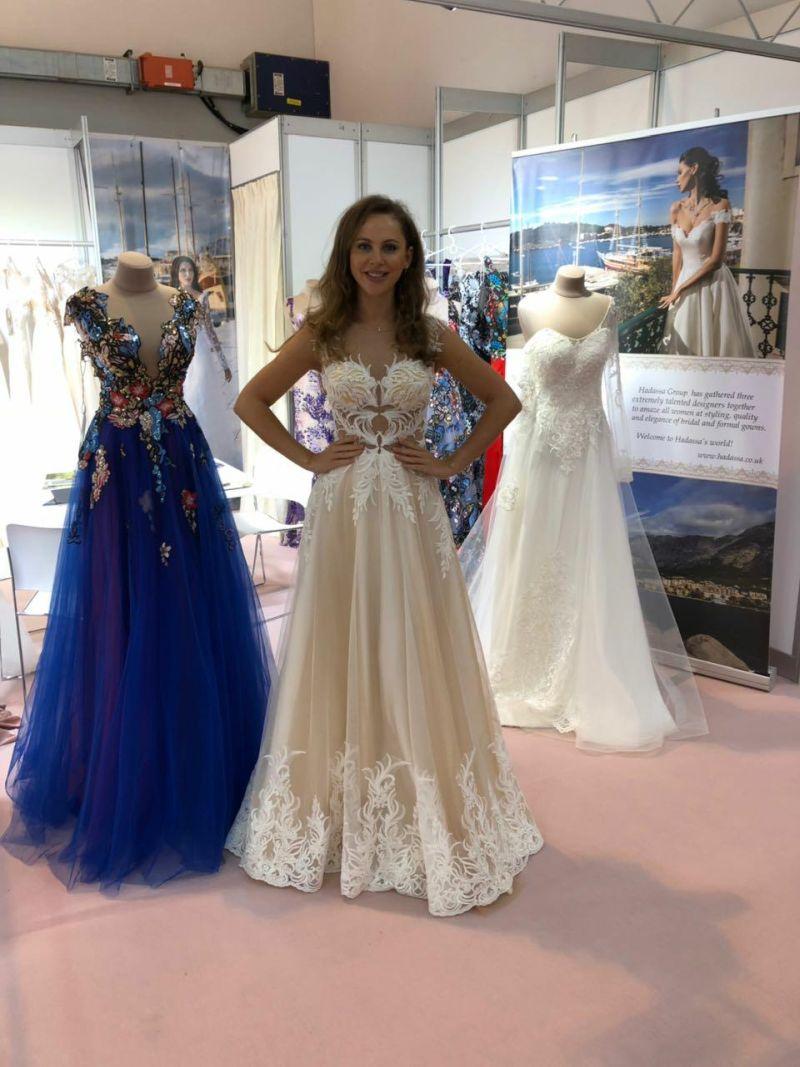 Prekrásne svadobné šaty Rossalino - Hadassa