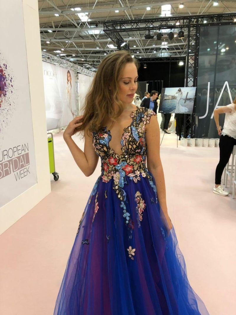 Luxusné spoločenské šaty Adelise - Dominique le Co