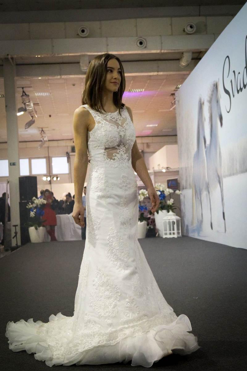Sexi svadobné šaty