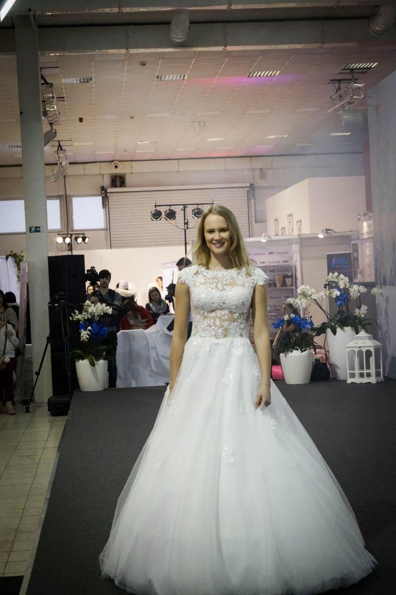 Prekrásne svadobné šaty