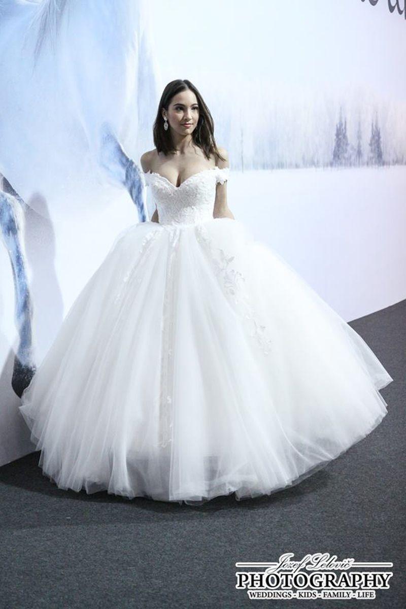 Najkrajšia prehliadka svadobných šiat