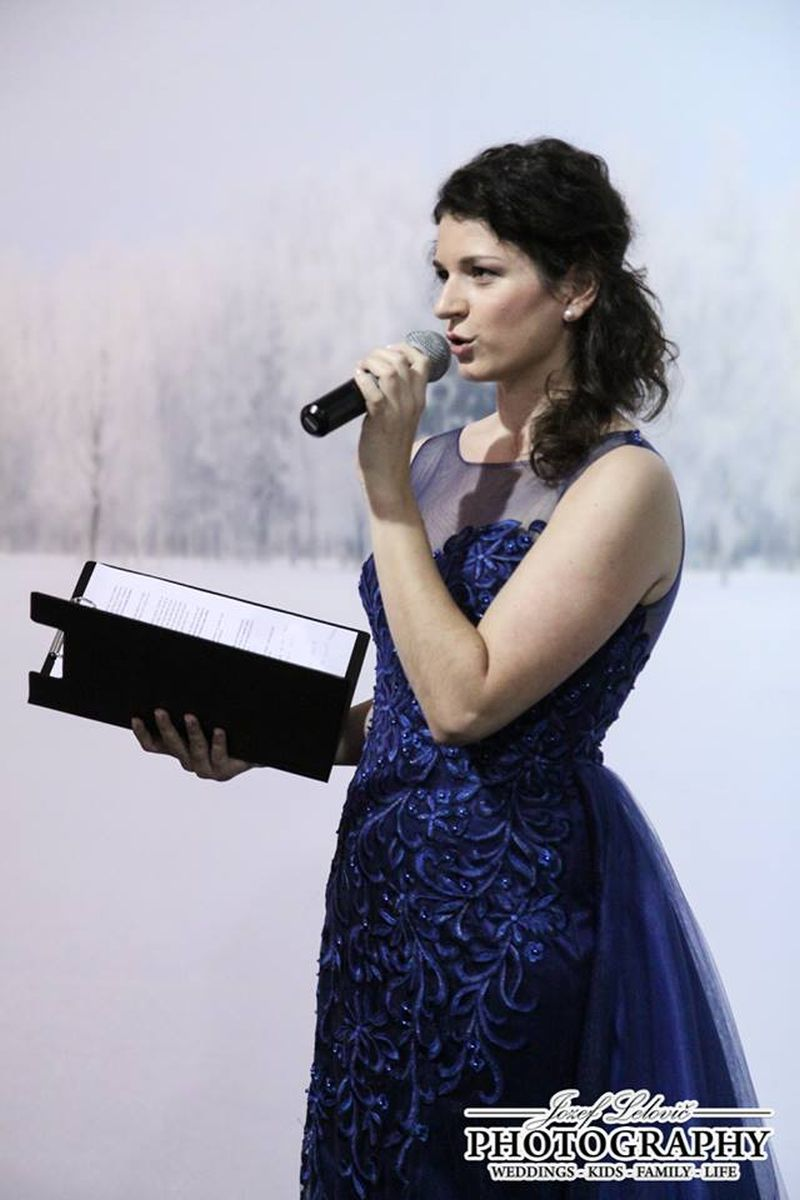 Najlepšia moderátorka Adrika Buleníncová