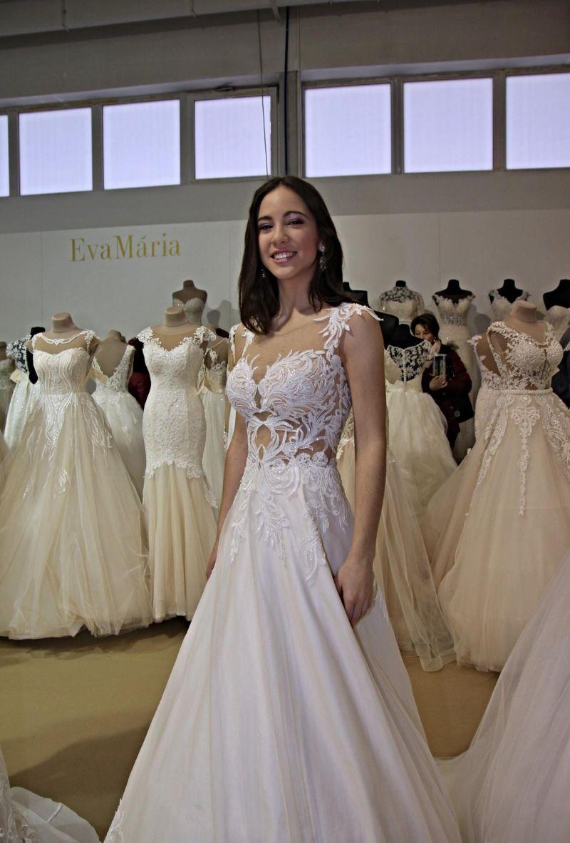 Svadobné šaty Rossalino