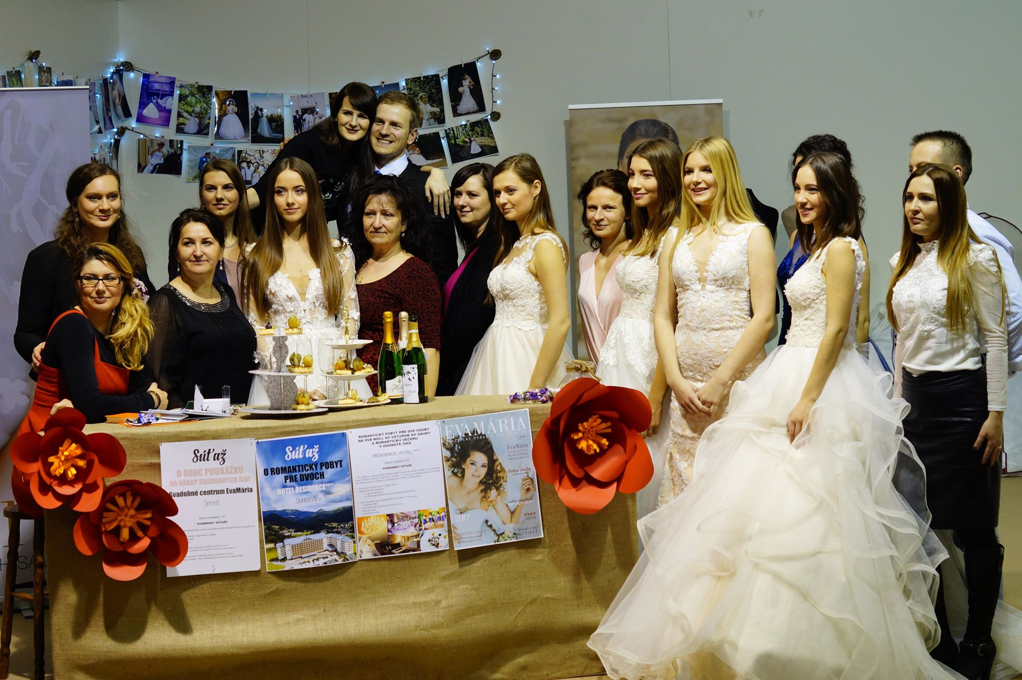 Sieť svadobných salónov EvaMária
