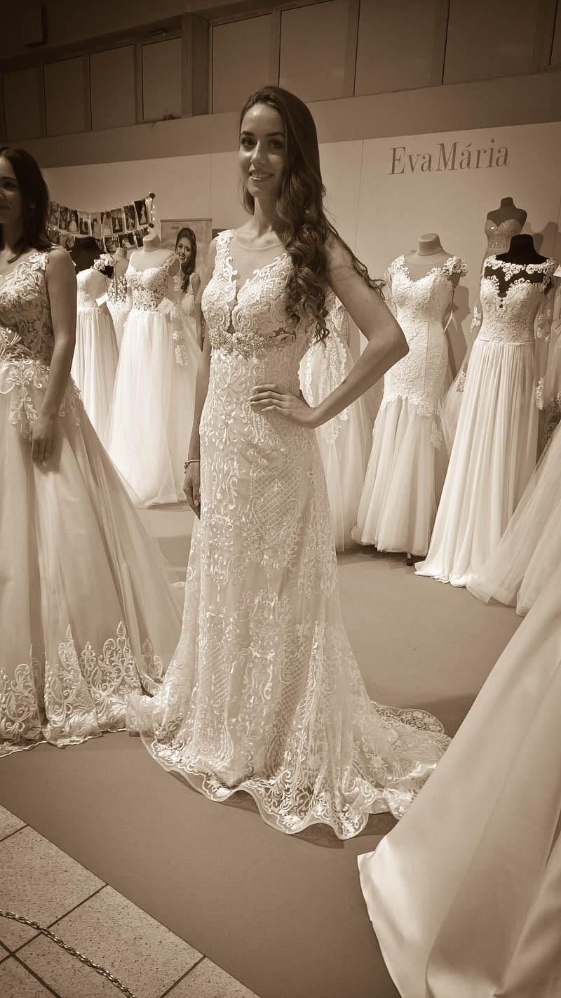 Nádherné svadobné šaty z čipky Linn Hadassa