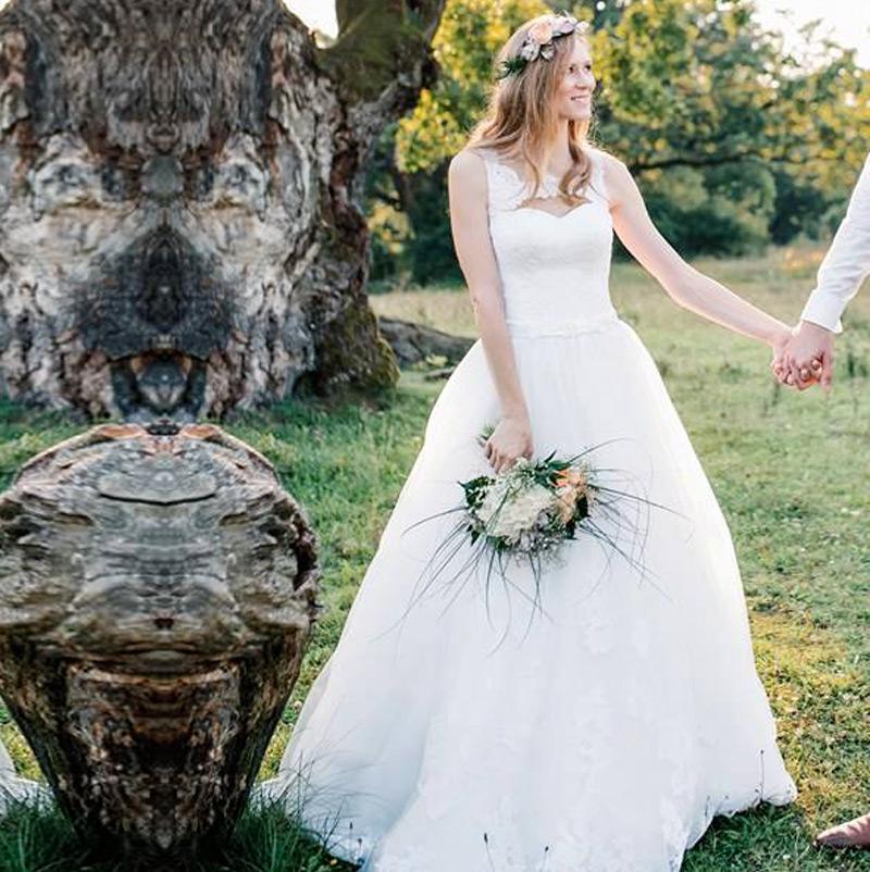 Svadobné šaty Agata od Tina Valerdi