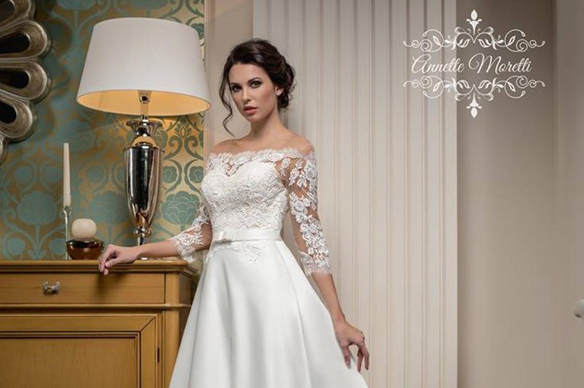 ANNETTE MORETTI - talianska značka svadobných šiat