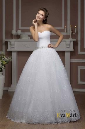 Svadobné šaty s vrstveným korzetom / živôtikom