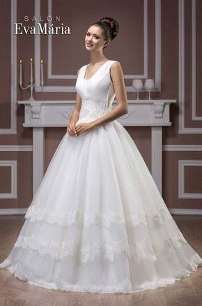 Svadobné šaty pre veľké prsia