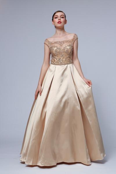 f29c97359d34 Popolnočné šaty - Svadobný a spoločenský salón EvaMária
