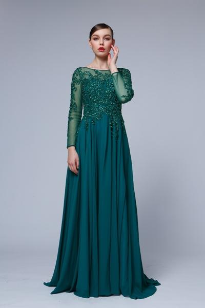 luxusné popolnočné šaty