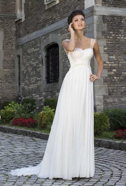 svadobné šaty pre tehotnú