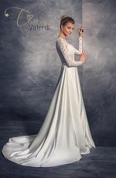 Svadobné šaty A-linia