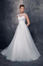 Svadobné šaty s veľkou tylovou sukňou