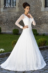 Svadobné šaty - princesový strih