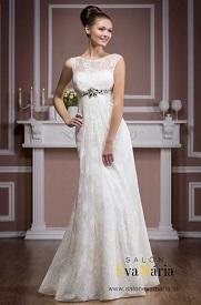Svadobné šaty empírového strihu