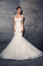 Svadobné šaty strihu morská panna