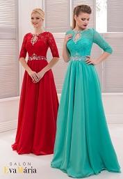 Spoločenské šaty A-linia
