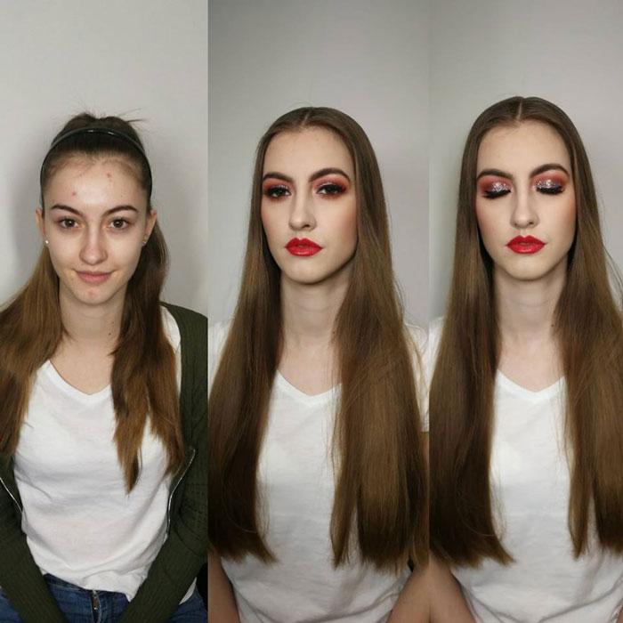 Make-up na stužkovú 2018