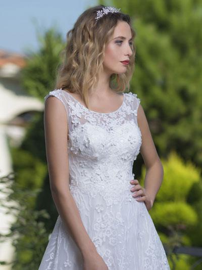 3D efekty na svadobných šatách