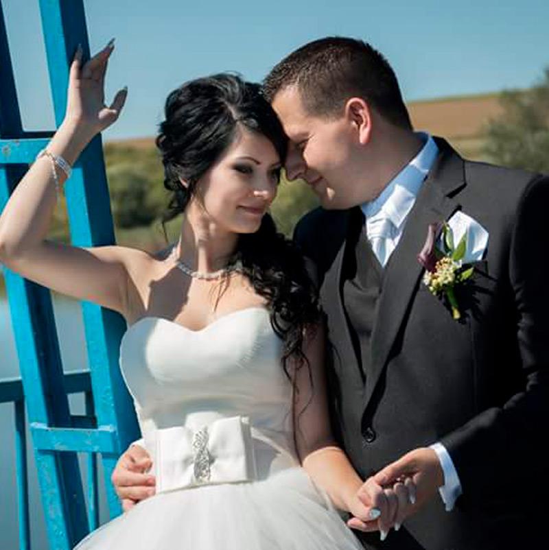 Svadobné šaty Barry značky Hadassa