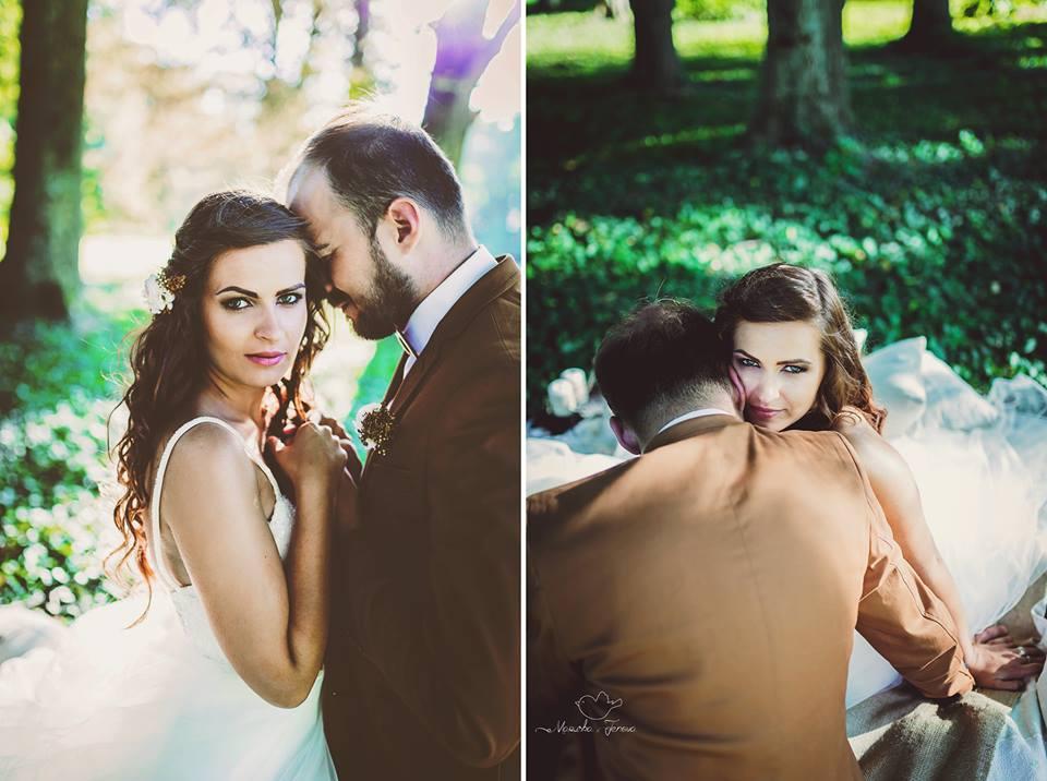 Lenka vo svadobných šatách Hadassa