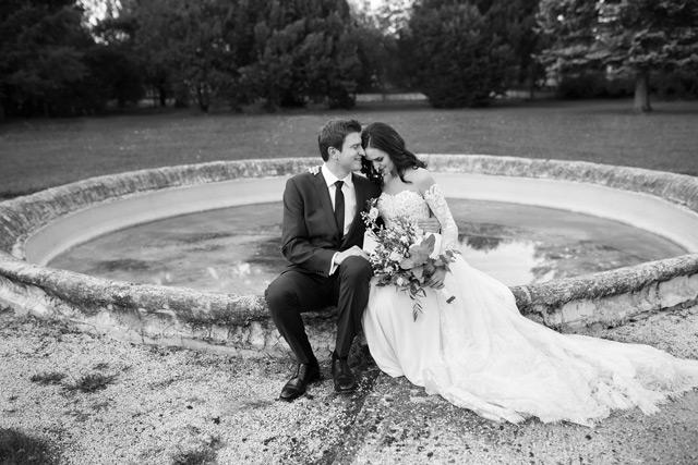Nádherná nevesta salónu EvaMária v svadobných šatách Virginia