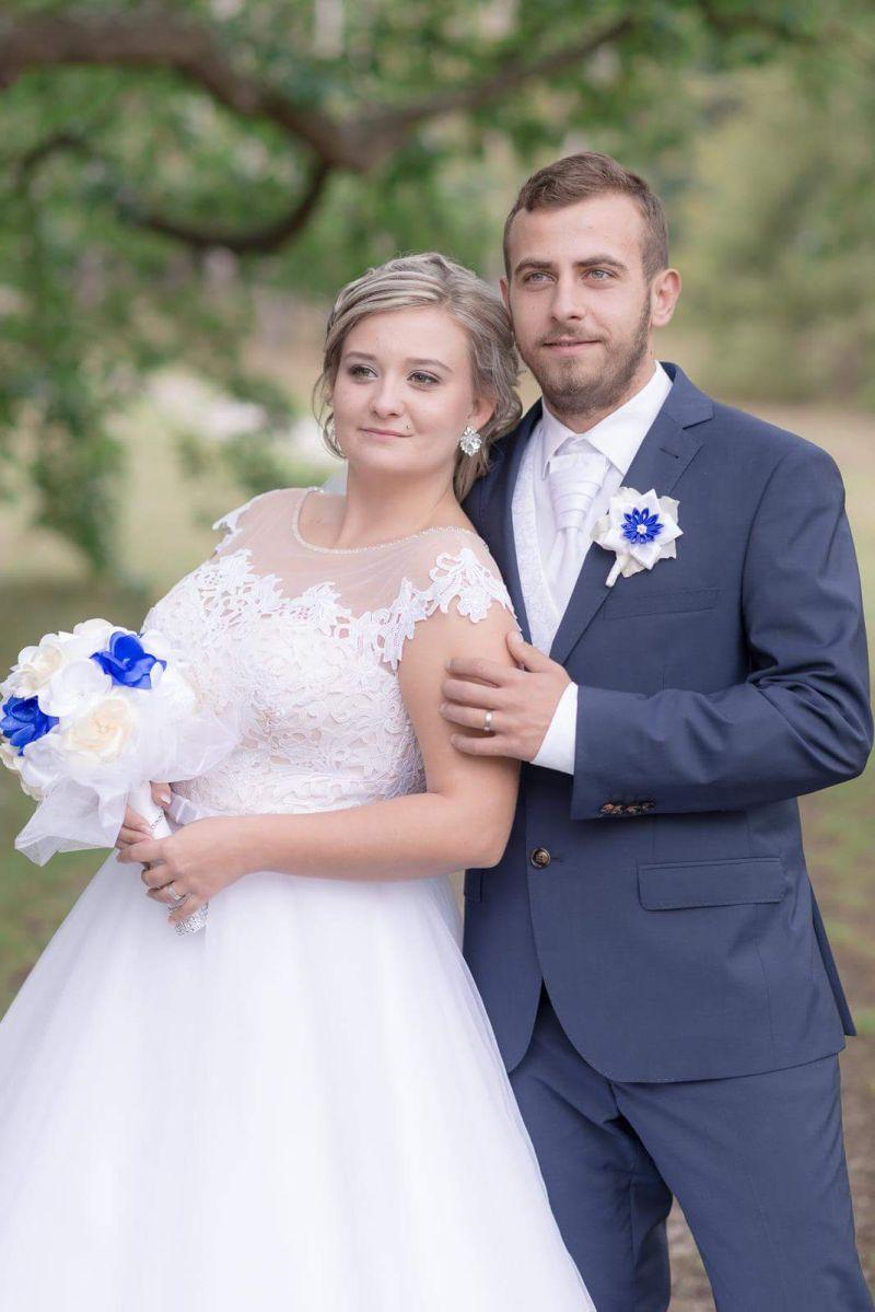 Nádherná nevesta v šatách Randi z prestížneho svadobného centra EvaMária Sereď