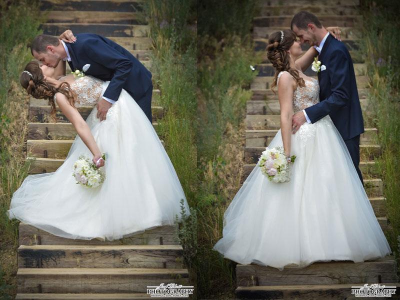 Nádherná nevesta v šatách Isabel zo svadobného centra EvaMária Sereď
