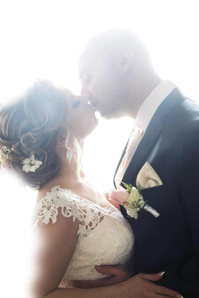 Alenka vo svadobných šatách Dalmira od Hadassy