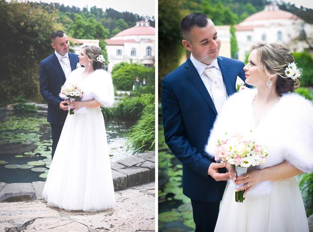 Spokojná zákazníčka Alena, ktorá si kúpila svadobné šaty zo Salónu EvaMária.