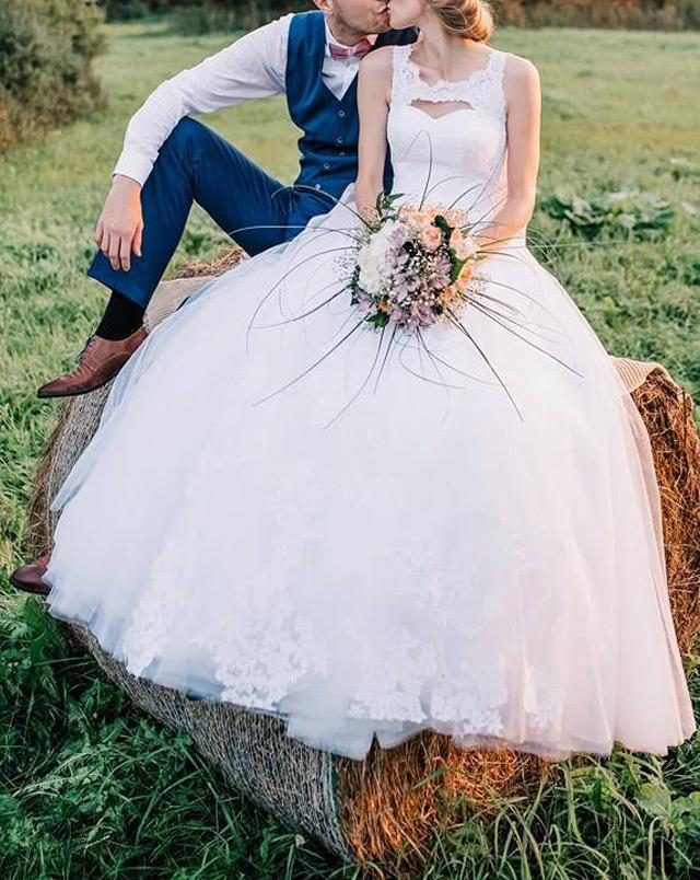 Svadobné šaty Agata šité na mieru
