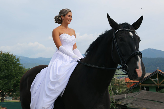 Svatební šaty od talianskej návrhárky Annette Moretti