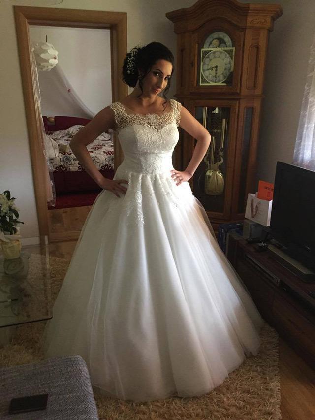 Svadobné šaty Violetta zo svadobného salónu EvaMária