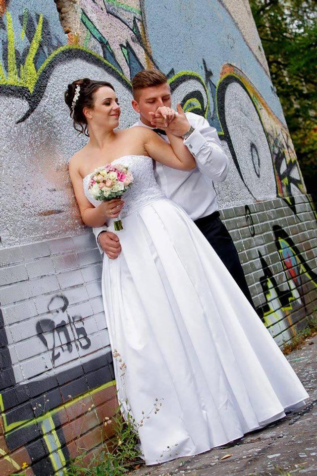 Svatební šaty Álya od Hadassa