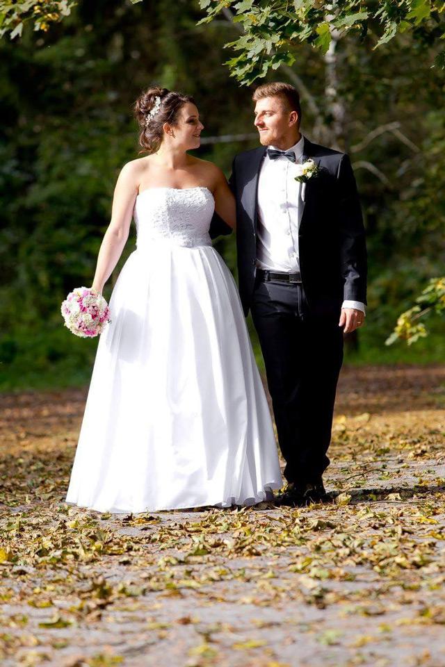 Nádherné svadobné šaty zo Salónu EvaMária