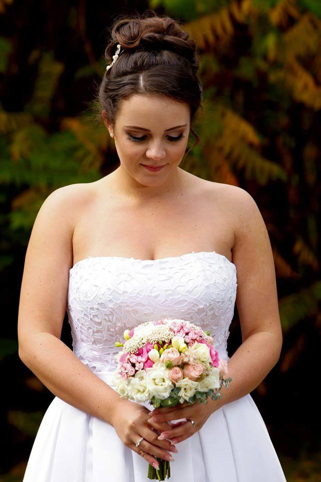 Krásna nevesta zo svadobného centra EvaMária