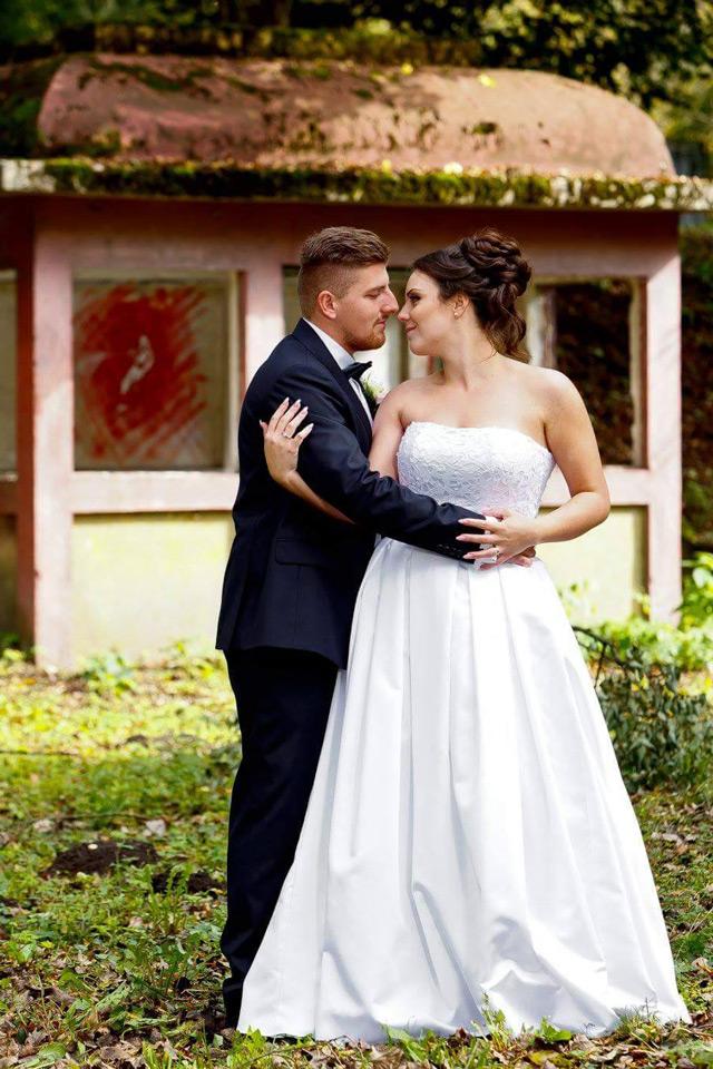 Svadobné šaty ušité na mieru v Salóne EvaMária - Hadassa