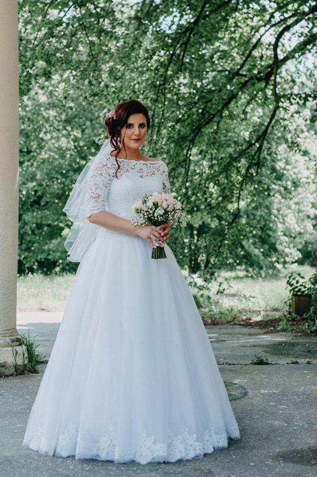 Nevesta zo svadobného salónu EvaMária v Seredi