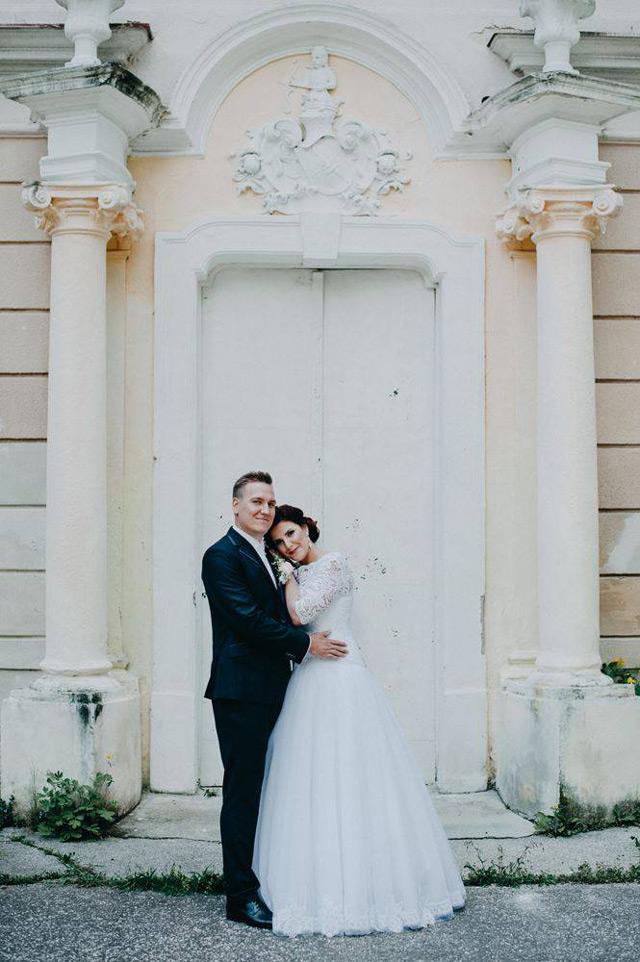 Svadobné šaty ušité na mieru - Viva Hadassa - EvaMária