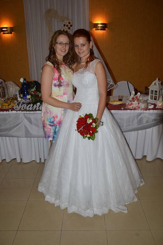 Svadobné šaty zo Salónu EvaMária