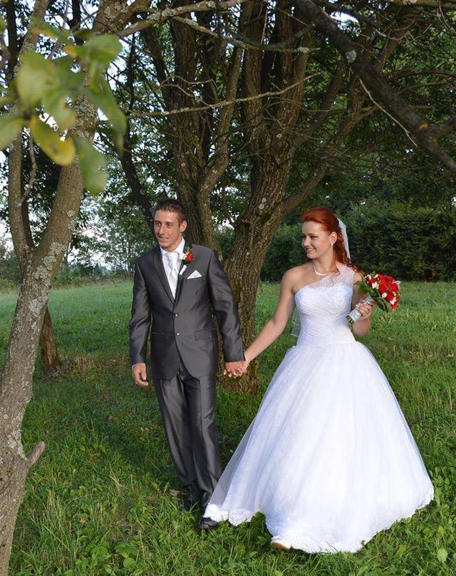 Svatební šaty Hadassa