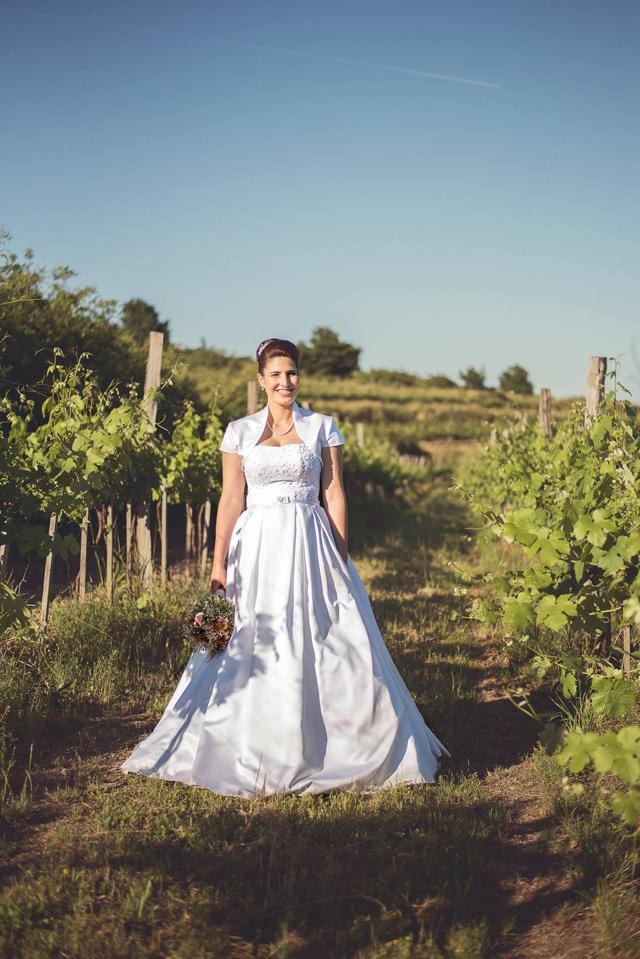 Svadobné šaty Hadassa - šitie na mieru