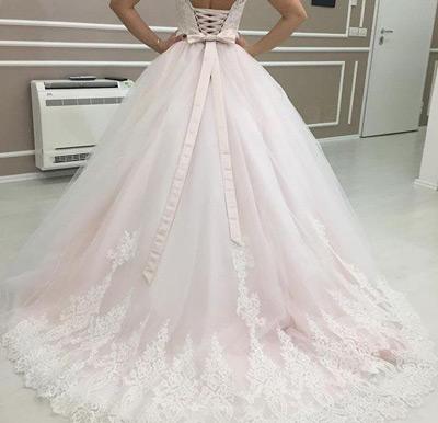 Najkrajšie ružové svadobné šaty