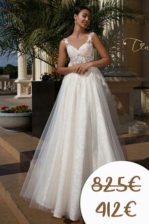 Svadobné šaty - zľava