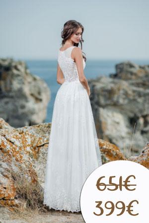 Zľavy na nové svadobné šaty