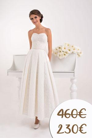 Svadobné šaty v zľave