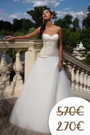 Zľavy na nové uxusné svadobné šaty