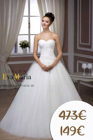 zľava na nové svadobné šaty